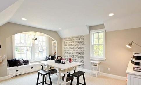 感受家居创意风 手绘墙画图案设计