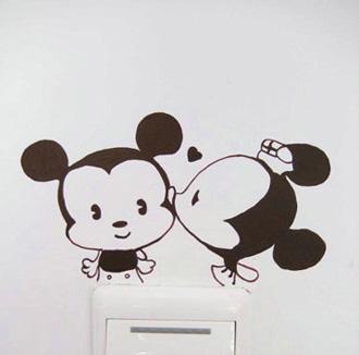 高奇艺术 开关墙绘 18244248716图片