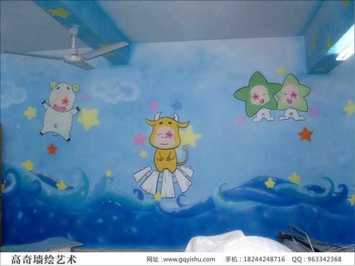 幼儿园室内墙面绘画